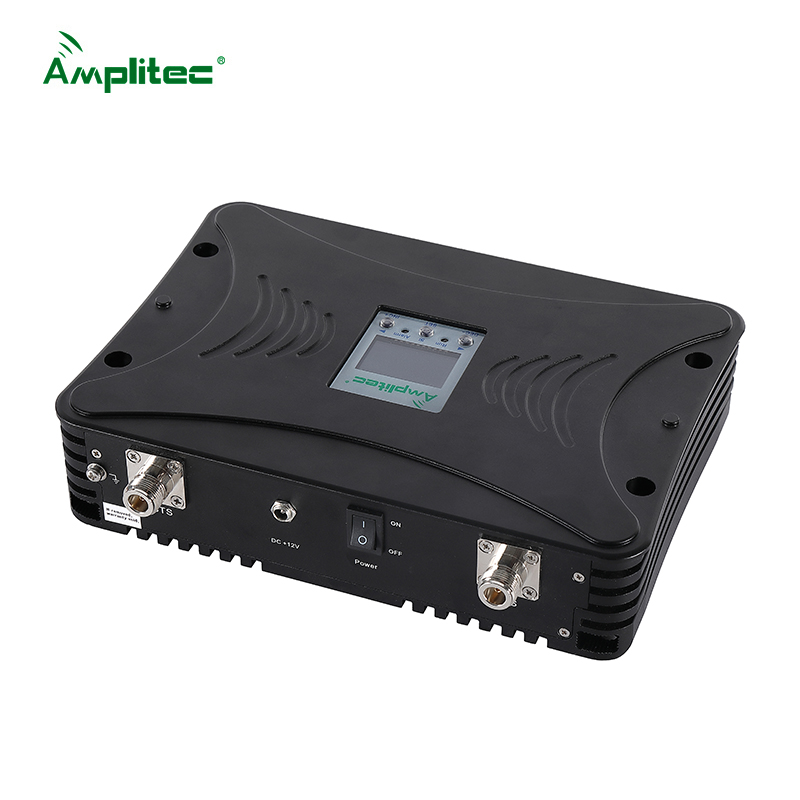 GSM Repeater 2G 3G 4G Signal Booster Tri Band Mobile Signal LTE Cellular Amplifier 1800/2100/2600MHz + Optional LCD Display Kits