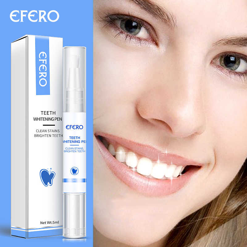 Efero Gel Tooth Cleaning Bleaching Dental White Teeth Whitening