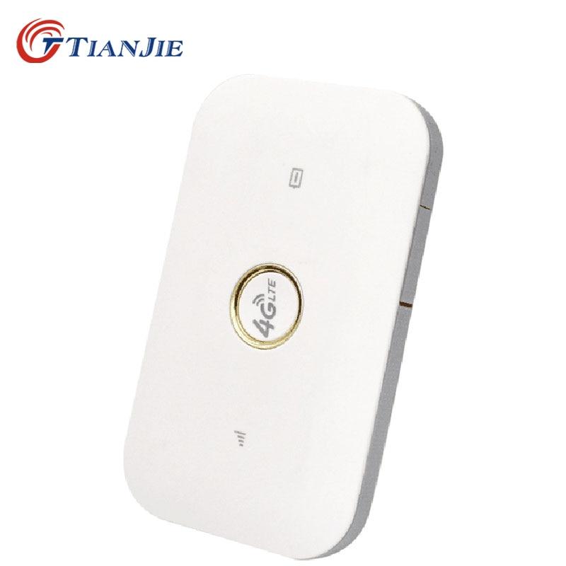 TIANJIE 3G 4G Mifi Router High Speed Unlock Wifi lModem GSM UMTS WCDMA LTE FDD TDD Sim Card Slot Carfi Pocket Hotspot Universal