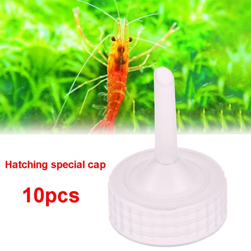 10pcs Aquarium Brine Shrimp Incubator Cap Artemia Hatcher Regulator Valve Kit