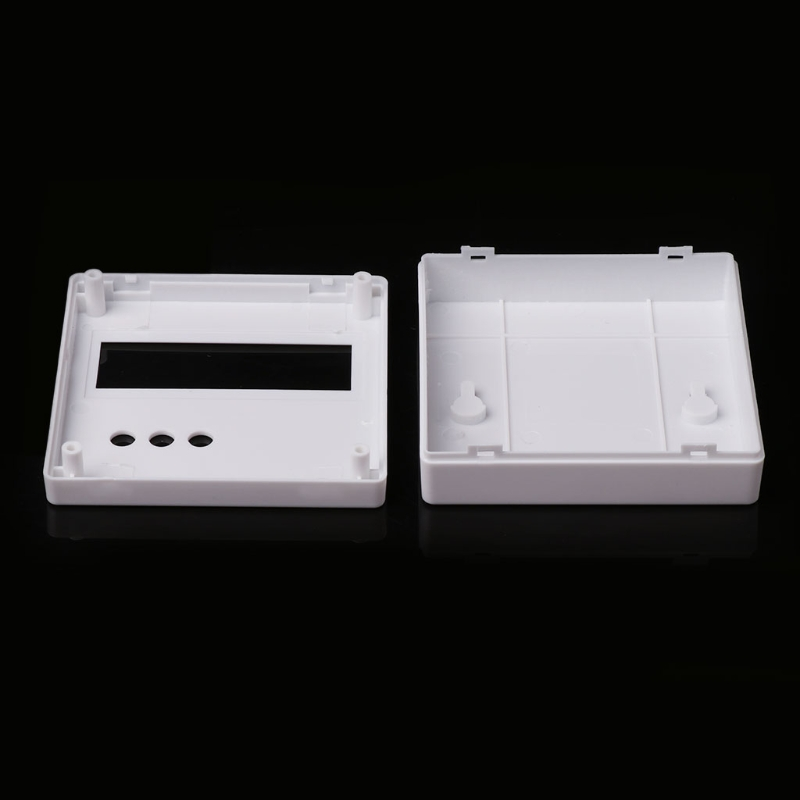 86 Plastic Project Box Enclosure Case for DIY LCD1602 Meter Tester With Button