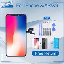 Elekworld Grade Für iphone X OLED XS XR TFT Mit 3D Touch Digitizer Montage Keine Tote Pixel LCD Bildschirm Ersatz display