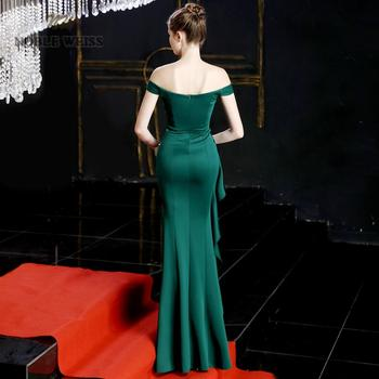 prom dresses 2019 green mermaid sexy split elastic party dress sexy vestidos de gala sweetheart long prom gown 2