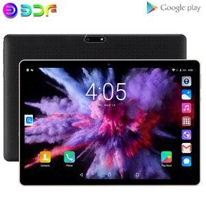 Новая система 10,1-дюймовые Планшеты Android 7,0 3G телефонный звонок 32 Гб четырехъядерный Wi-Fi Bluetooth Dual SIM планшетный ПК + клавиатура