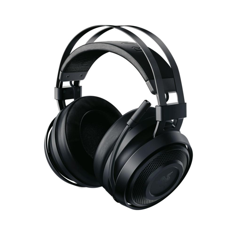 Razer Nari Essential Wireless Gaming Headset Headphone Earphone THX Spatial Audio Cooling Gel-Infused Cushions 2.4GHz Wireless 1