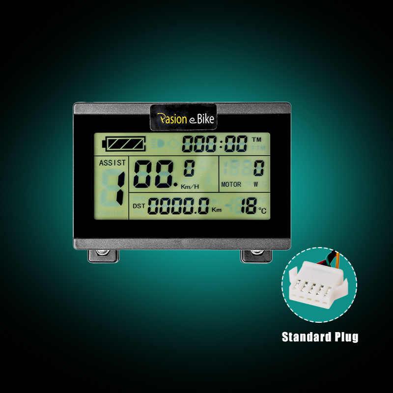 Zubehör Fahrrad-LCD-Anzeige Meter Controller Reise Wasserdicht 1 stück