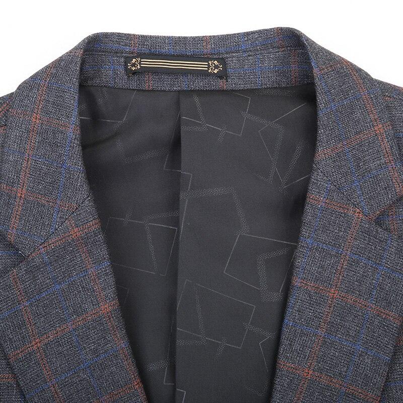 2019 big Plus size 8XL 7XL 6XL New Arrival Autumn And Winter Men's Suit Jacket Fashion Slim Fit Brazer Casual Blazers Men - 2
