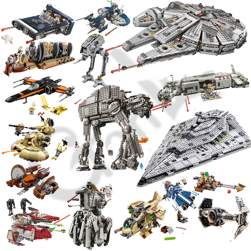 2019 NEW Star Wars Rancor Pit Destroyer Costruzion Tauntaun Warship Microfighters Building Block Toys Compatible With MOC