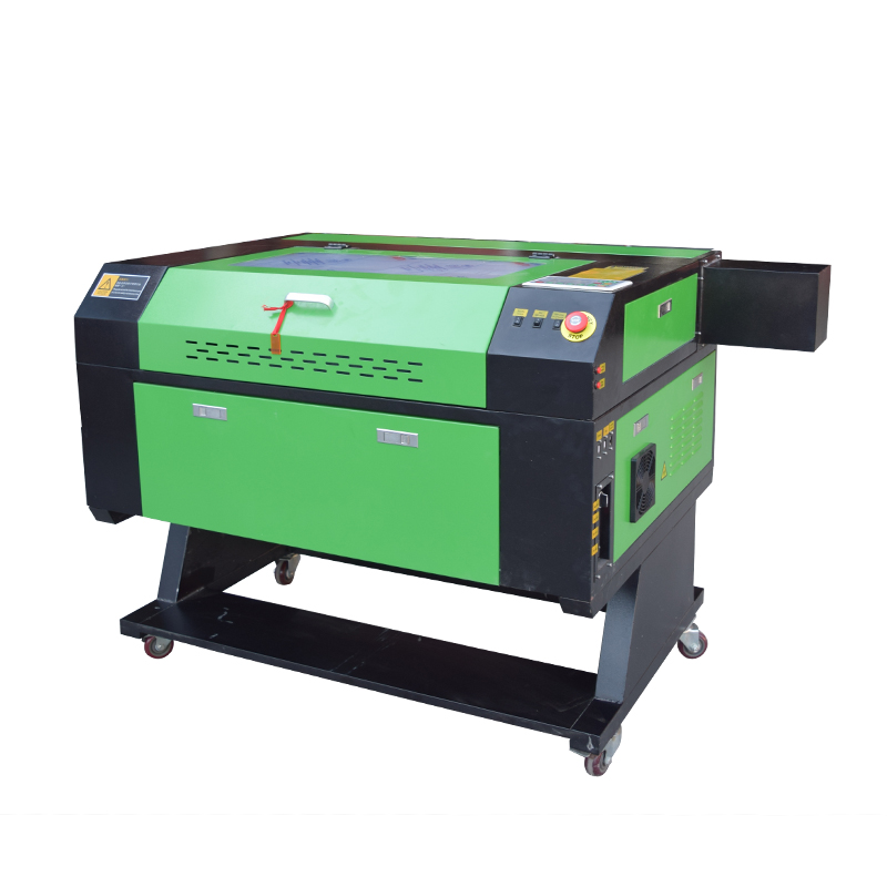 80W Laser Engraver Engraving Machines 700x500mm With Rotary Axis + Water Chiller CW5000AG