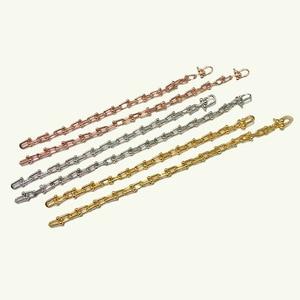 Image 3 - を高品質uはバングルローズゴールド色ビジューブレスレット女性と男性のファッションジュエリーDJ1400