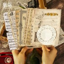 26 Pcs Vintage Boek Pagina Diy Junk Journal Dagboek Planner Creatieve Ambachtelijke Papier Scrapbooking Decoratieve Achtergrond Materiaal Papier