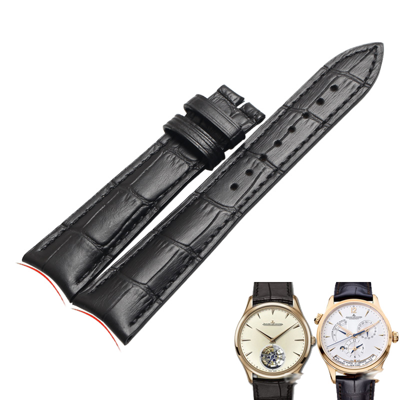 wentula watchbands for Jaeger-LeCoultre Q1368420/Q154842 calf-leather band cow leather Genuine Leather leather strap watch band