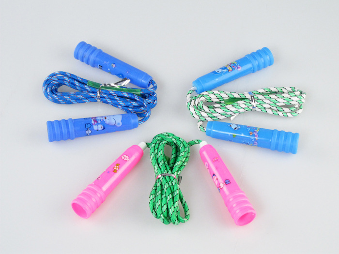 201 Children Jump Rope Stall Hot Selling Jump Rope Children Jump Rope Skipping Rope With Plastic Handle