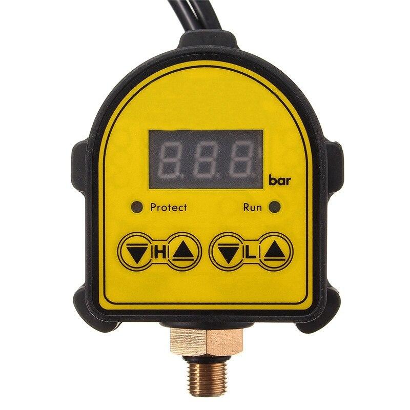 Image 2 - Цифровой контроллер автоматического воздушного насоса водяного масла компрессор переключатель регулятора давления для водяного насоса вкл/выкл Au PlugВыключатели    АлиЭкспресс