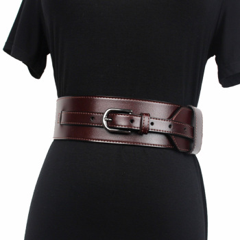 2020 New Designer Womens Wide Black Brown Genuine Leather Belt Body Harness Belts for Women Luxury Brand Waistband