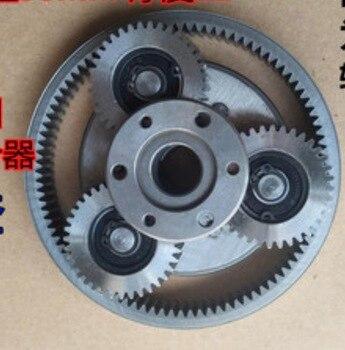 1Set 36T Gear Diameter:38mm Thickness:12mm Electric Vehicle Motor Steel Gear+Gear Ring+Clutch