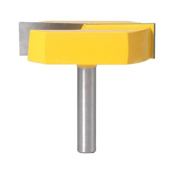 цена на 8 Mm Shank Cleaning Bottom Milling Cutting Diameter For Surface Planing Router Bit Trimming Milling Cutter Wood Cutter