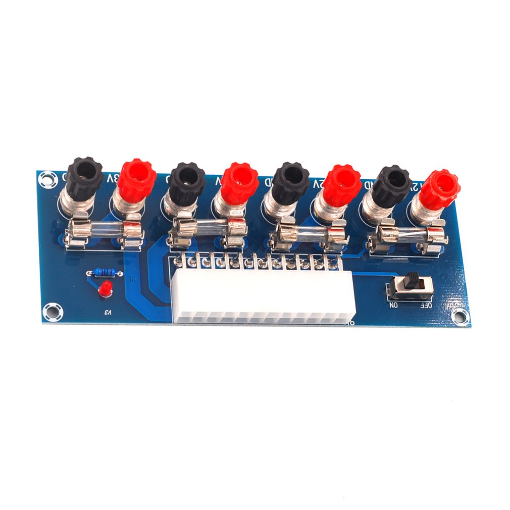 XH-M229 Desktop Chassis Power Supply ATX Adapter Board Takeout Board Outlet Module Power Supply Output Terminal