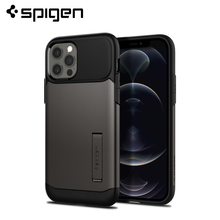 "Spigen Slim שריון מקרה עבור iPhone 12 פרו/iPhone 12 (6.1 "")   Drop התנגדות & מקרי Kickstand"