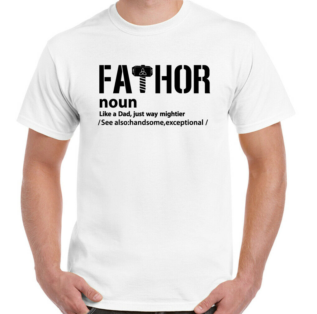 Gift for Dad Comic Geek Funny Father T-Shirt Daddy Present Fathor Mens T Shirt