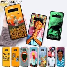 WEBBEDEPP tyler the creator Silicone Case for Samsung S6 Edge S7 S8 Plus S9 S10 S10e Note 8 9 10 M10 M20 M30