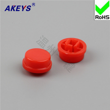 A24 brimmed key cap can be equipped with 12*12*7.3 round convex short foot dust waterproof