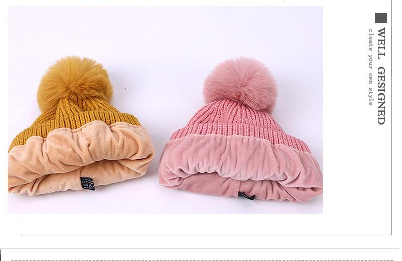 Crianças inverno grosso chapéu cachecol conjunto bebê