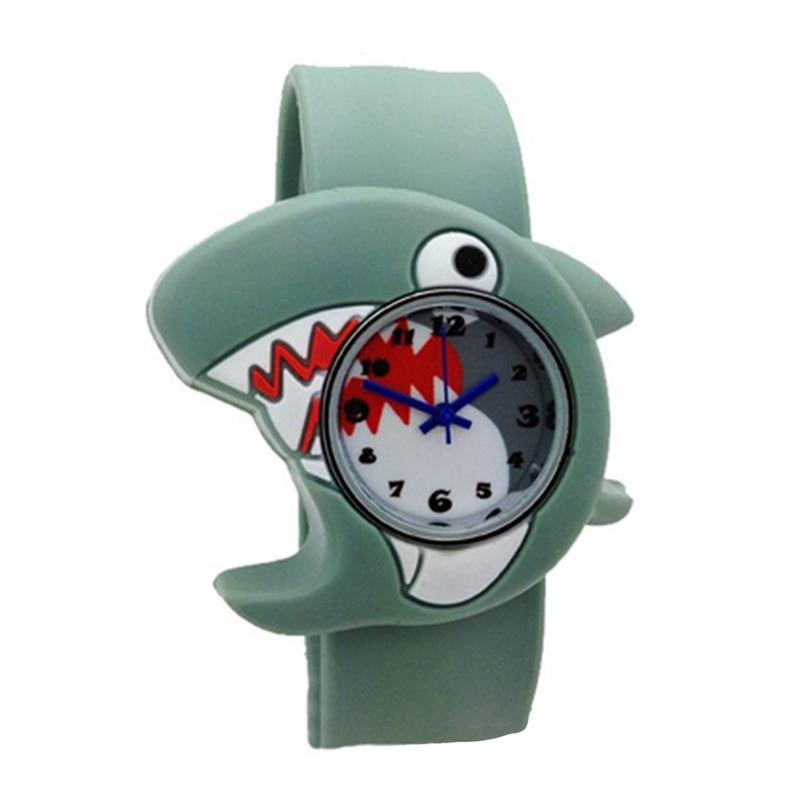 Children's Watches Cartoon Kids Wrist Baby Watch Clock Quartz Watches for Gifts Relogio Montre shark