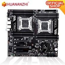 цена на HUANANZHI X79-16D Motherboard Intel Dual CPU LGA 2011 REG ECC  DDR3 1333/1600/1866MHz SATA3 USB3.0 E-ATX witht VGA