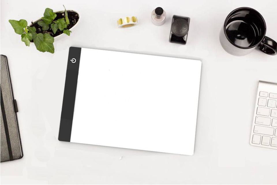 The New clip+A4 Drawing Board LED Writing Painting Light Box USB Powered Tablet Copyboard Blank Canvas for Painting tool 3