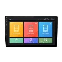 10,1 дюймов 2Din для Android 8,1 четырехъядерный автомобильный стерео радио Gps Wifi Mp5 плеер 16G