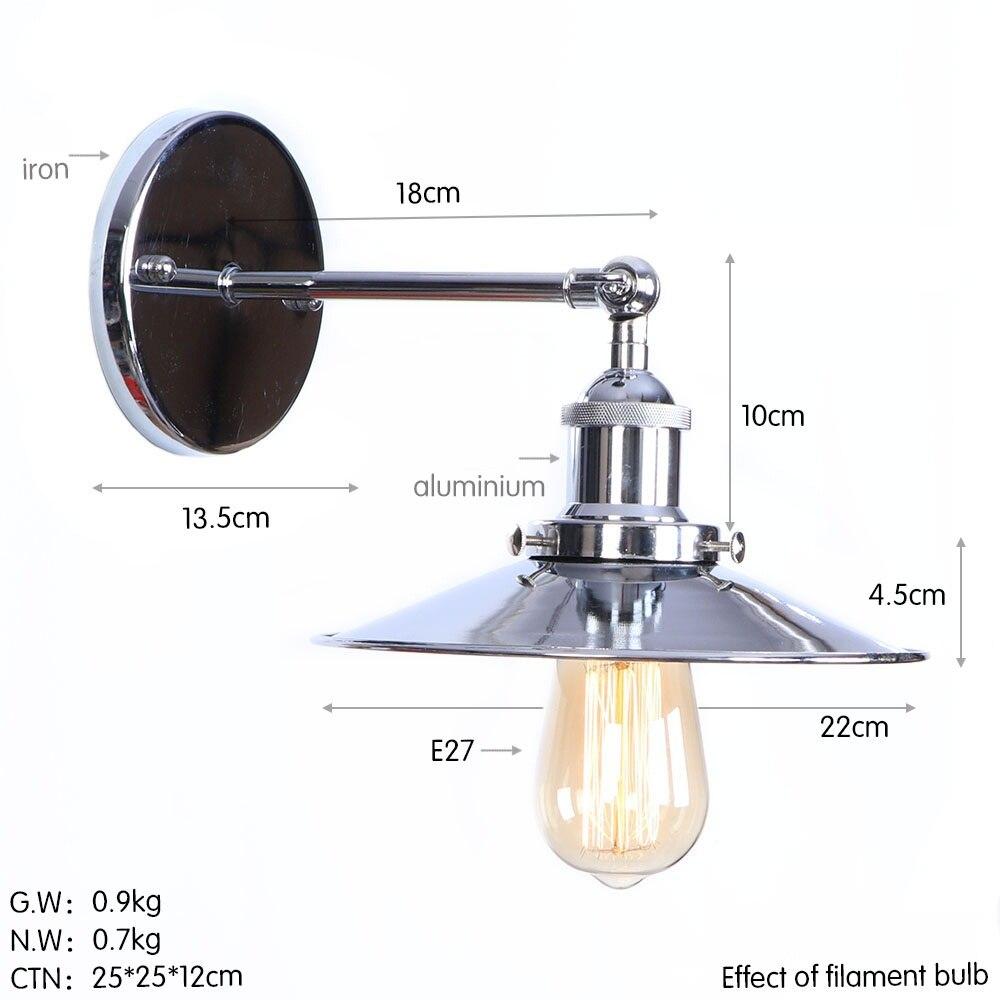 B0030-220 铬色 尺寸图 钨丝