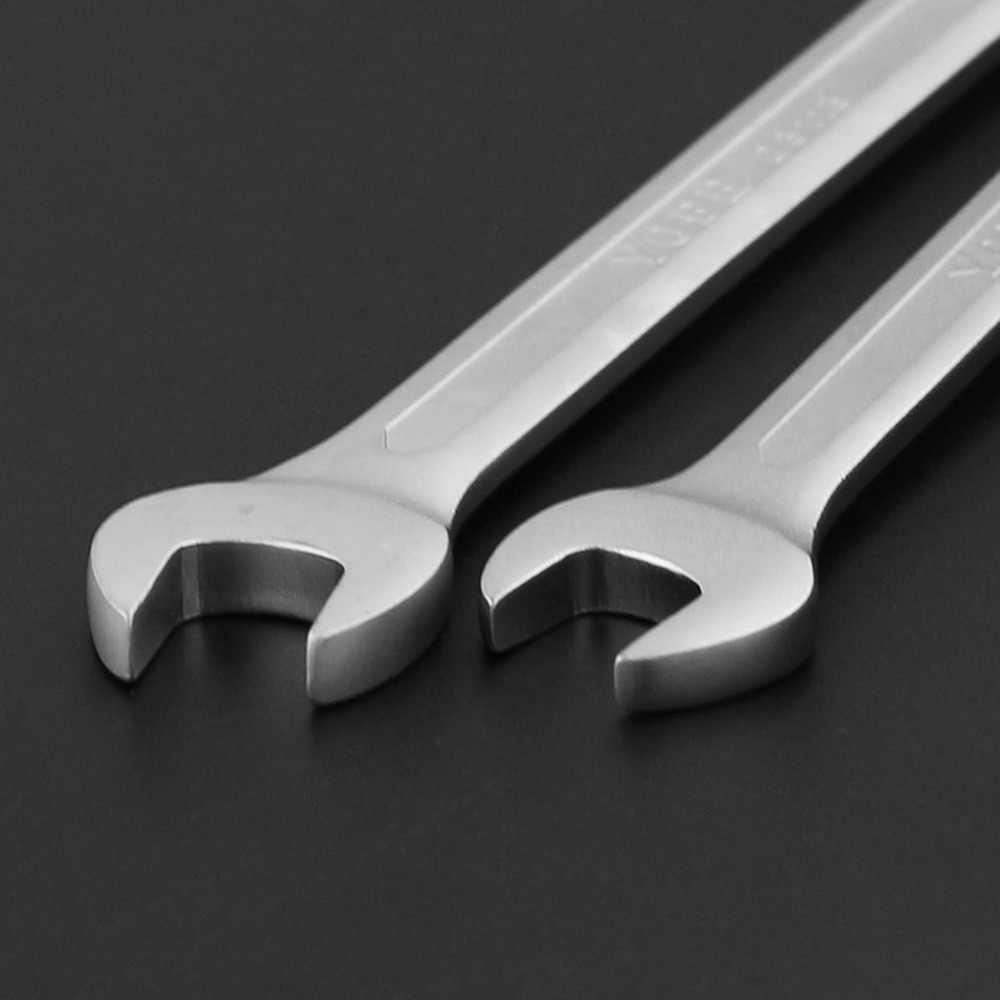 גמיש 6mm-32mm כפול ראש מחגר ברגים שילוב ברגים סט של מפתחות סקייט כלי הילוך טבעת ברגים תיקון כלי
