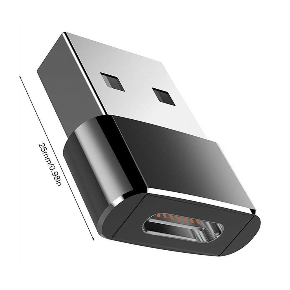 Convertidor adaptador USB OTG macho a tipo C hembra, adaptador de Cable tipo C para Nexus 5x6p Oneplus 3 2 USB-C, cargador de datos
