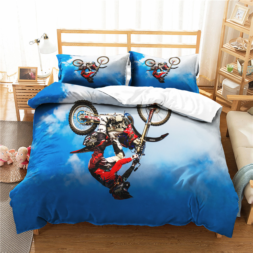 Bed Covers Bedroom Clothes Motorcycle