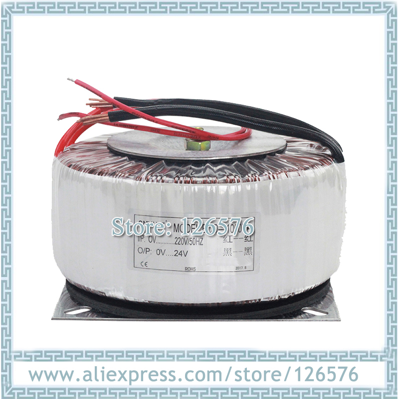 New Copper Toroidal 30W <font><b>30VA</b></font> input voltage AC220V/AC110V output voltage 110V 70V 48V 24V 12V Ring transformer image