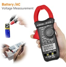 BT-570N Digital Clamp Meter,True RMS Auto Range 6000 Counts AC/DC Current Voltage Tester Inrush Current test With LCD Backlight