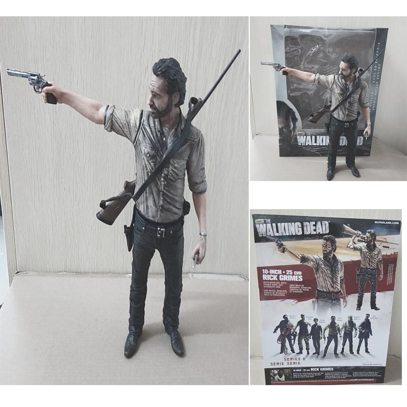 amc-terror-tv-series-font-b-the-b-font-font-b-walking-b-font-font-b-dead-b-font-figure-sheriff-25cm-rick-grimes-with-rifle-mcfarlane-action-figures-collectable-toy-gifts