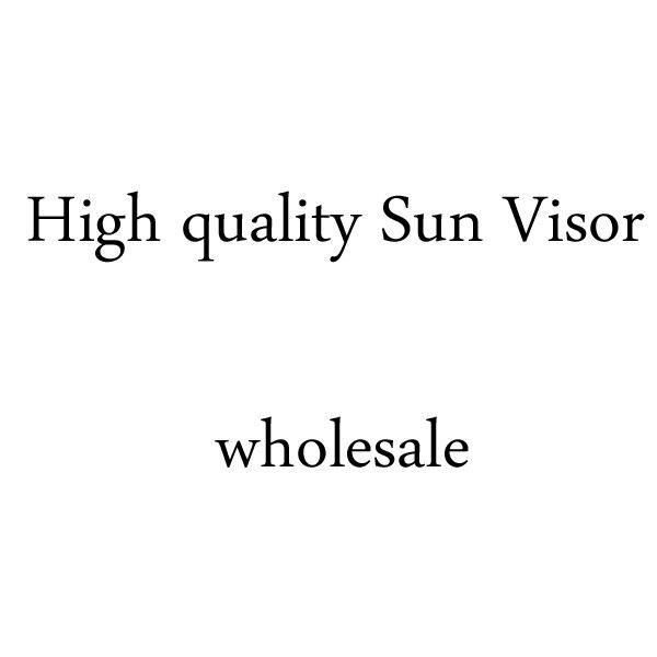 New Visor Sun Hat Golf Tennis Beach Unisex Cap Summer UV Protection Transparent Blue Gray