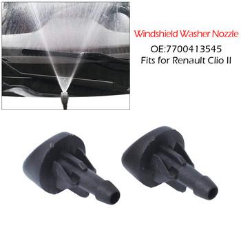Nowy 2 sztuk przedniej szyby wycieraczki dyszy Jet dla Renault Clio II 7700413545 trwałe форсунки омывателя tanie i dobre opinie PA66 as shown