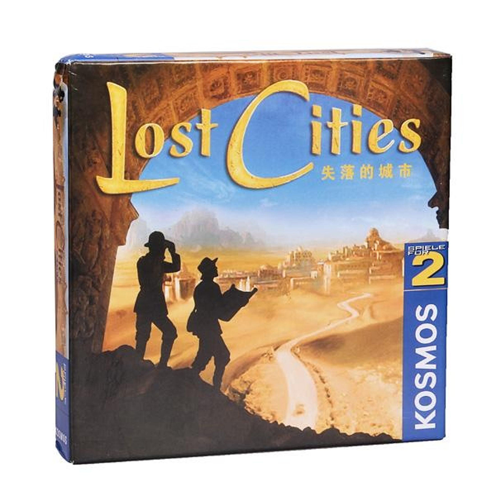 Lost Cities Board Game 2 Players Card Games For Family Party Best Gift For Children Party Battle Game