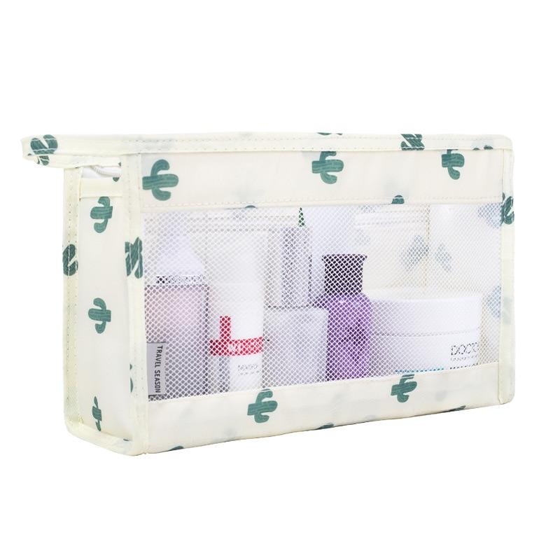 Women's Beauty Bag Multi-function Waterproof Transparent Swimming Storage Bag Travel Zipper Cosmetics Storage Bag