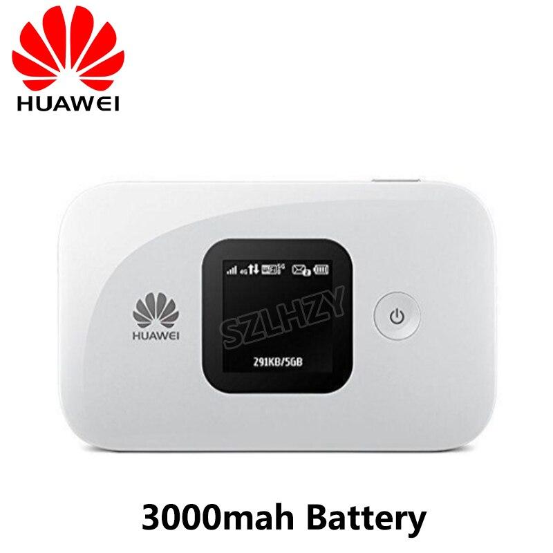 Nouveau Original débloqué Huawei E5577 e5577s-321 4G LTE Cat4 150Mbps routeur Hotspot poche Mifi avec batterie 3000MAh jusqu'à 10 utilisateurs