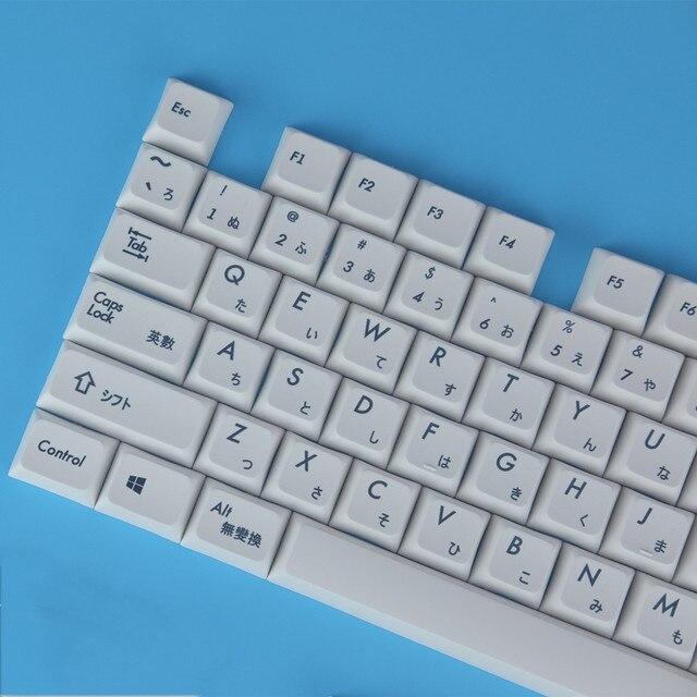 Механическая клавиатура Keycaps японский XDA профиль Keycap PBT краситель сублимированный Keycaps 1.75U 2U ключи для 60 61 64 84 96 87 104 108