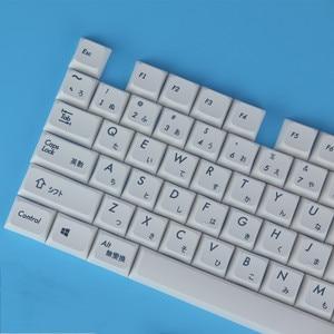 Image 1 - Mechanical Keyboard Keycaps Japanese XDA profile Keycap PBT DYE Sublimated Keycaps 1.75U 2U Keys For 60 61 64 84 96 87 104 108