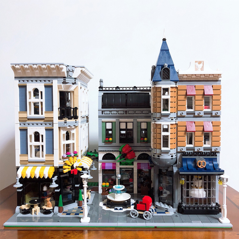 4002pcs Street View Series Bricks Figures Compatible Legoings 10255 City Assembly Building Blocks Toys Gifts For Children