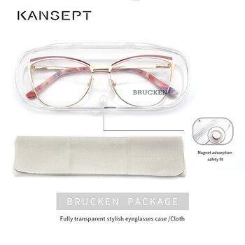 Metal Frame Cat Eye Glasses 5
