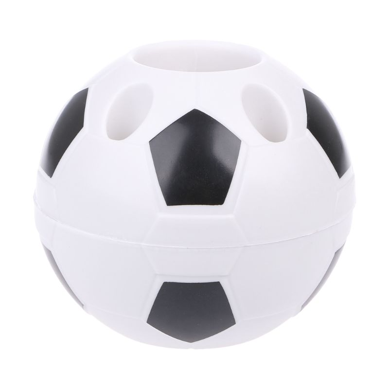Creative Football Pen Holder Toothbrush Container Multifunction Office Organizer AXYF