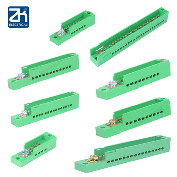 Bornera de empalme, caja de distribución, cero filas, una entrada y salida múltiple, caja de empalme, terminal de medidor, divisor, derivación de cable 1