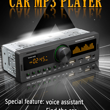 12V Car MP3 Player Bluetooth Hands-Free FM Radio Car Audio Kit